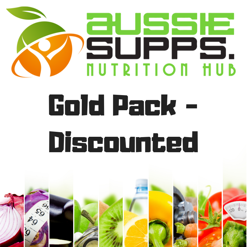 Aussie Supps Nutrition Hub Gold Pack - Discount (AfterPay) (Belinda/Sophie)