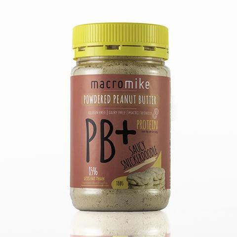 Powdered Peanut Butter 180g by Macro Mike