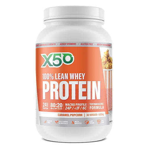 100% Lean Whey Protein 1kg by X50