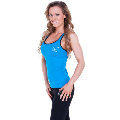 Leeshyloo Activewear Cross Over Singlet