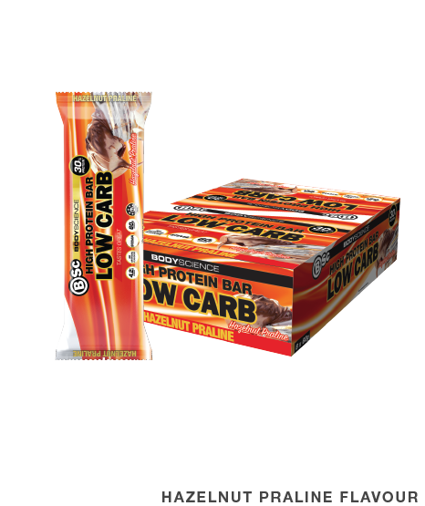 High Protein Low Carb Protein Bar by Body Science