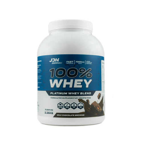 100% Whey Protein 2.25kg by JD Nutraceuticals - 75 Serves