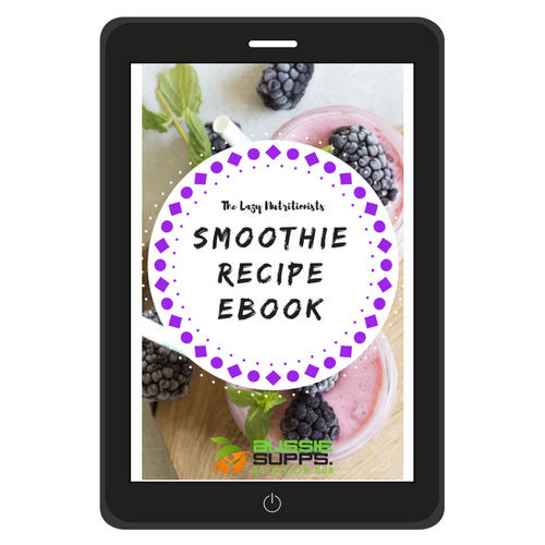 The Lazy Nutritionists Smoothie Recipe eBook