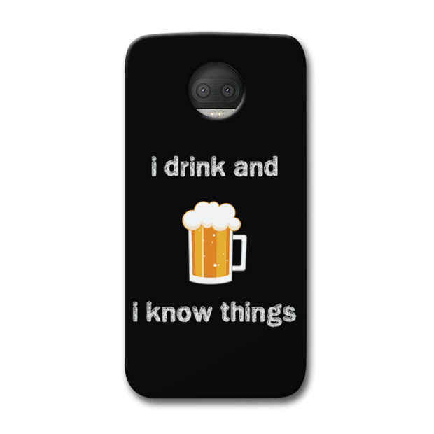 I Drink Moto G5s Plus Case