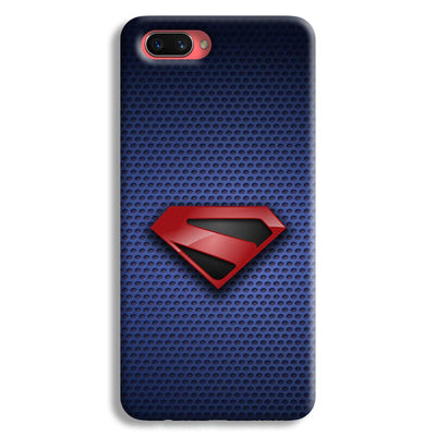 Superman Blue Oppo A3s Case