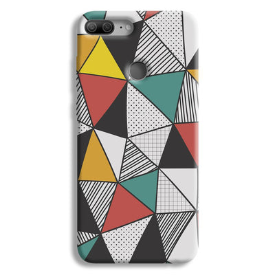 Triangle Abstract Pattern Honor 9 Lite Case