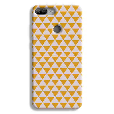 Yellow Triangle Honor 9 Lite Case