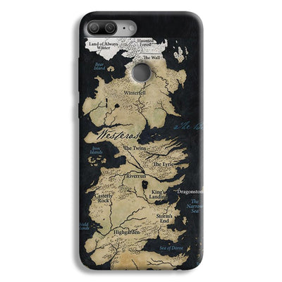 Game of Thrones Map Honor 9 Lite Case