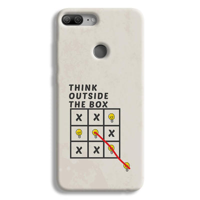 Think Outside the Box Honor 9 Lite Case