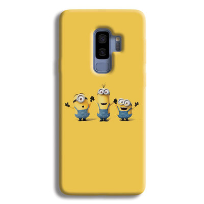 Three Minions Samsung Galaxy S9 Plus Case