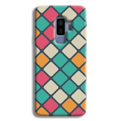 Colorful Tiles Pattern Samsung Galaxy S9 Plus Case