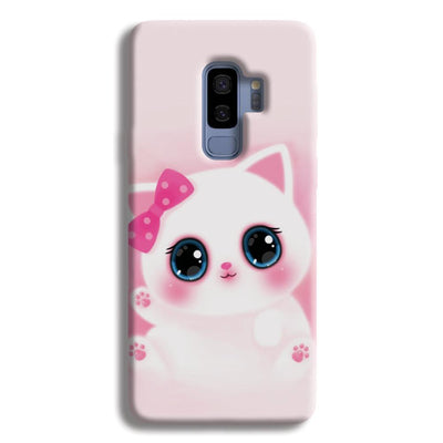 Pink Cat Samsung Galaxy S9 Plus Case
