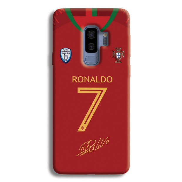 Ronaldo Jersy Samsung Galaxy S9 Plus Case