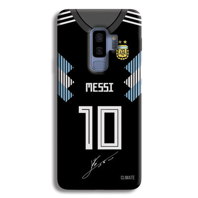 Messi (Argentina) Jersey Samsung Galaxy S9 Plus Case