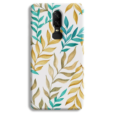Tropical leaves  OnePlus 6 Case