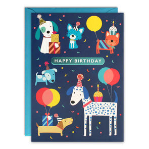 HC3258 - Dogs Kids Birthday Card