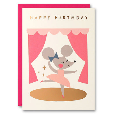 HE2520 - Ballerina Mouse Card
