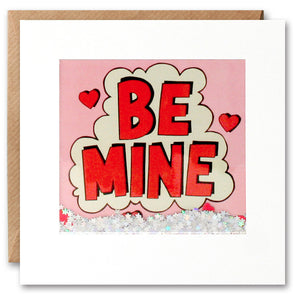 PK2620 - Be Mine Kapow Shakies Card