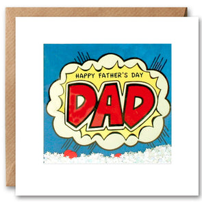 PK2647 - Father's Day Dad Kapow Shakies Card