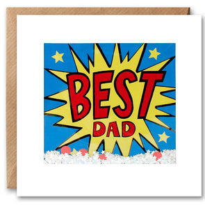 PK2649 - Best Dad Kapow Shakies Card