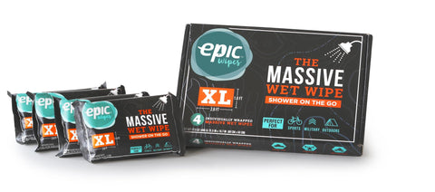 4 Pack of XL Epic Wipes