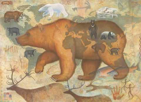Bears of the World - Notecard