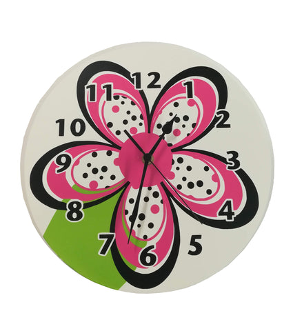 Bright Flower Clock