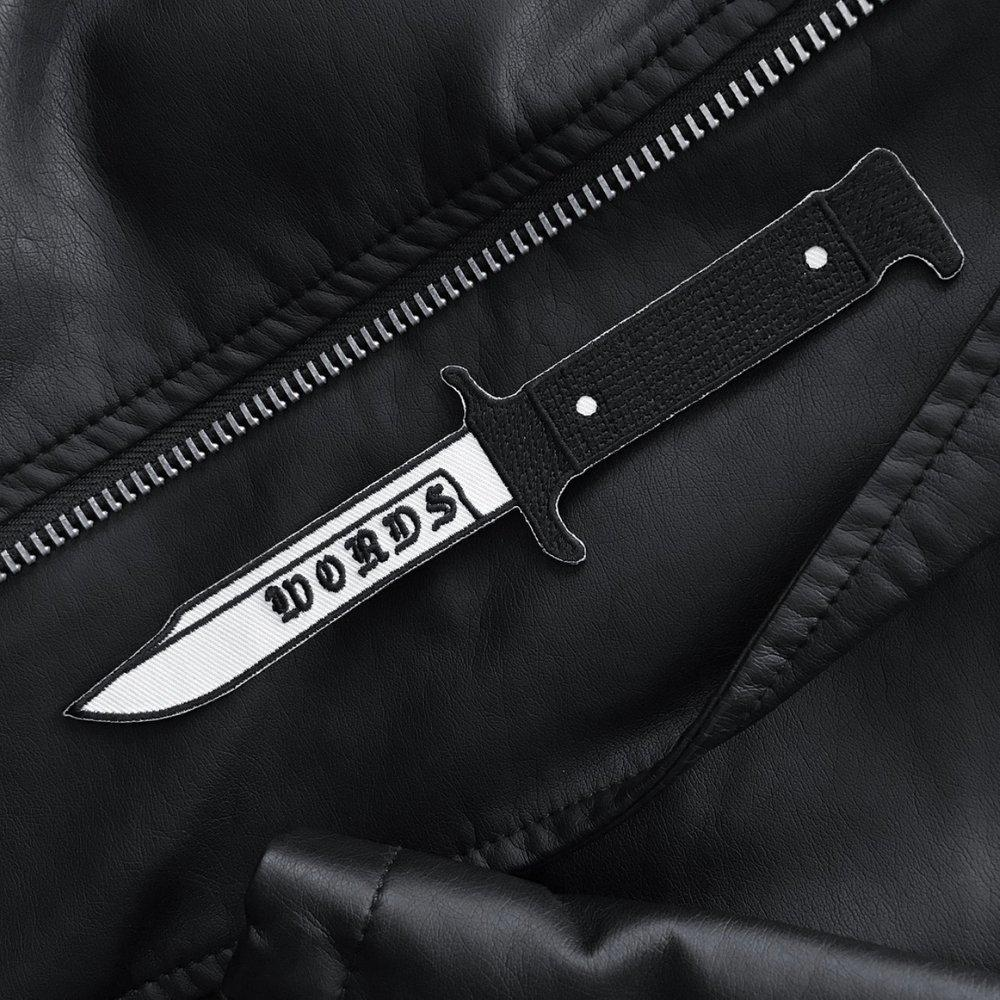 Words like Knives Patch