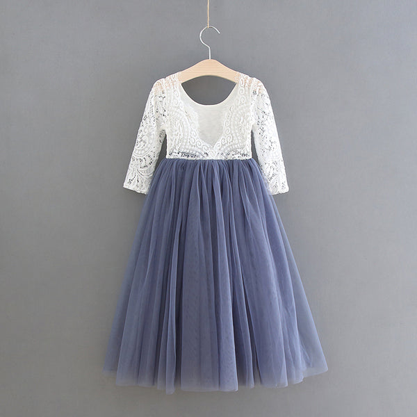 Anastasia straight skirt ~ Steal Blue