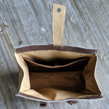 OOAK small WHO Leather Purse