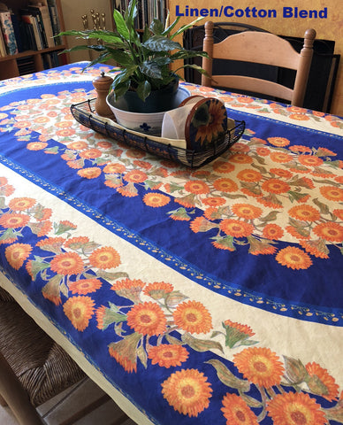 Table Linens - Sunflower Tablecloth Collection