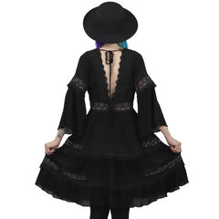 Pixie Goth Dress (One left!)