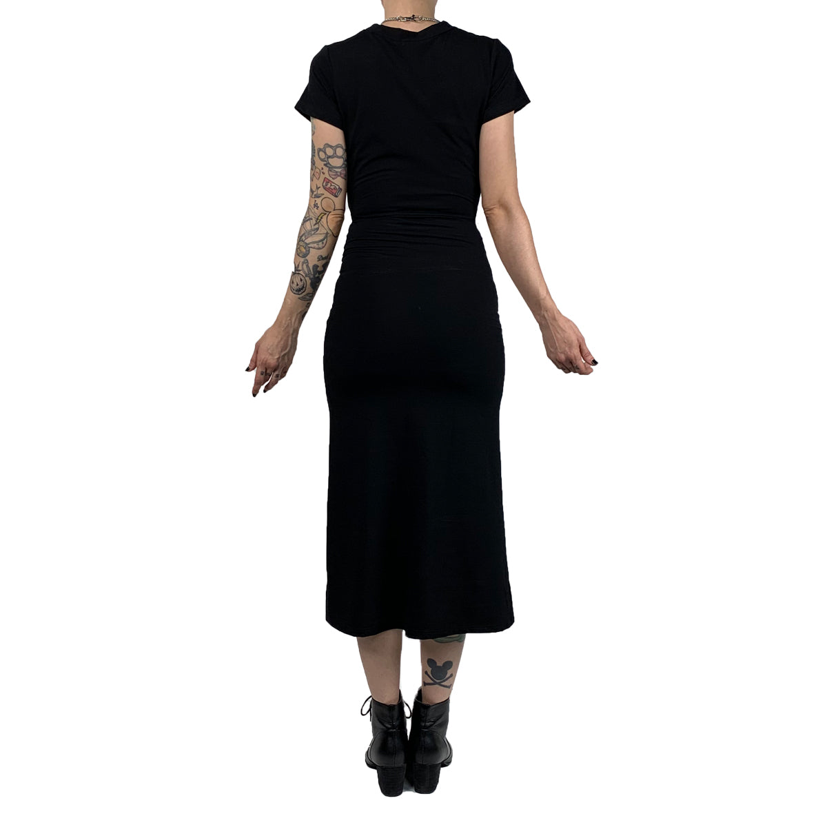 Tie Me Up T-shirt Dress (XS- 3XL) Limited Edition