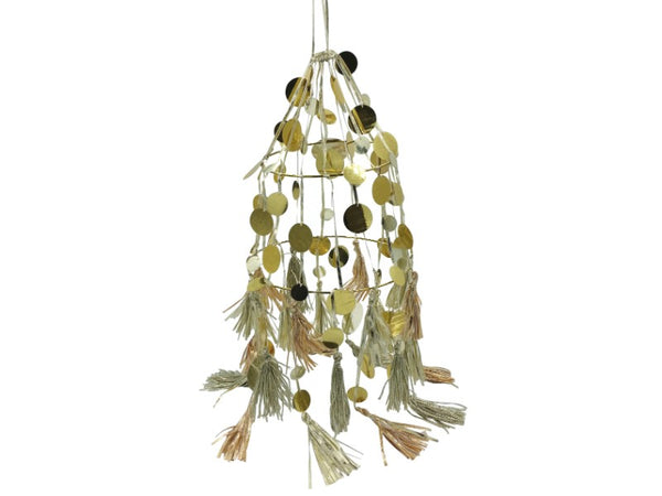 Light Shade - Metallic- Tassels