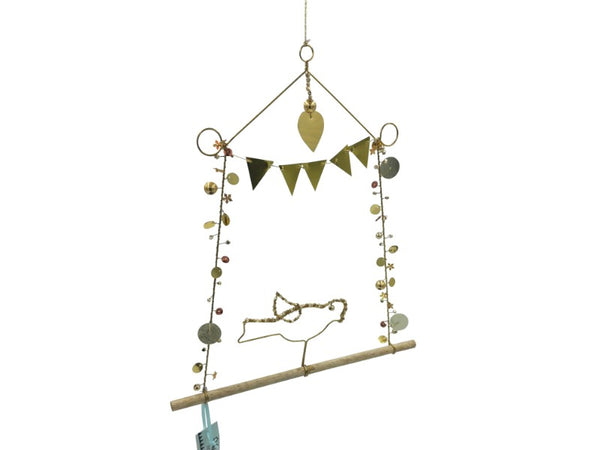 Mobile - Bird - Gold/Bunting
