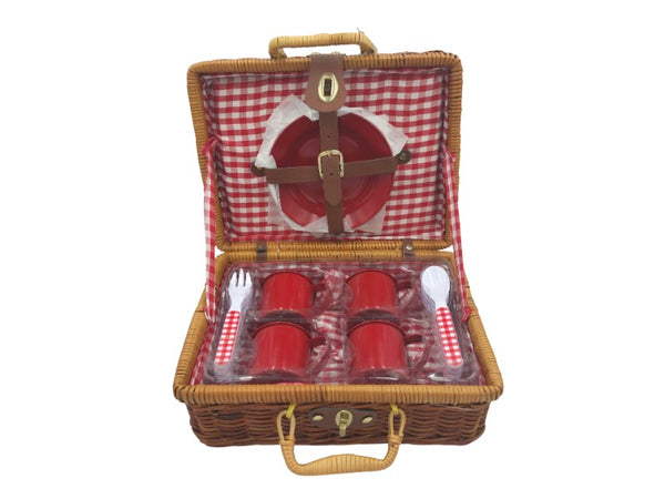 Picnic Set - Red Enamel