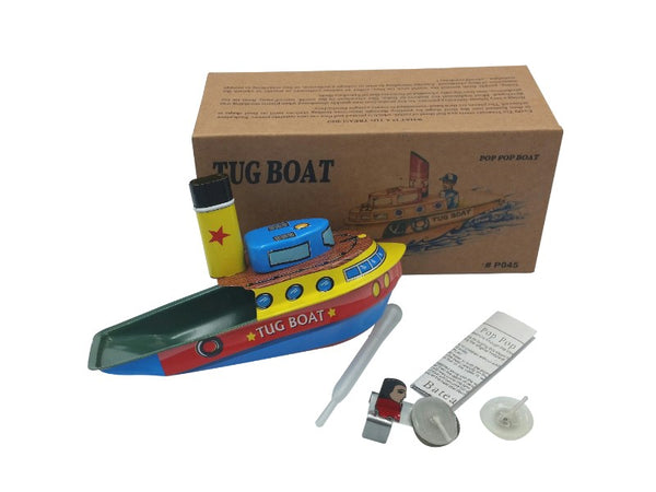 Tin Toy - Steam Tug Boat