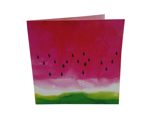 Greeting Card - Watermelon