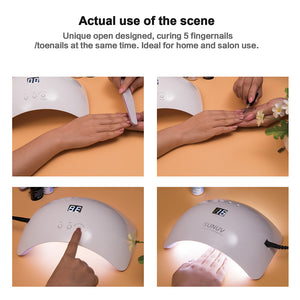 SUN8 48W Smart UV LED Nail Lamp - SUNUV Nail Lamp Store