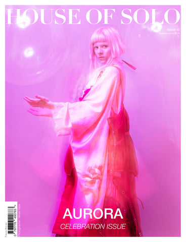 ***Pre Order*** CELEBRATION ISSUE of HOUSE OF SOLO featuring AURORA