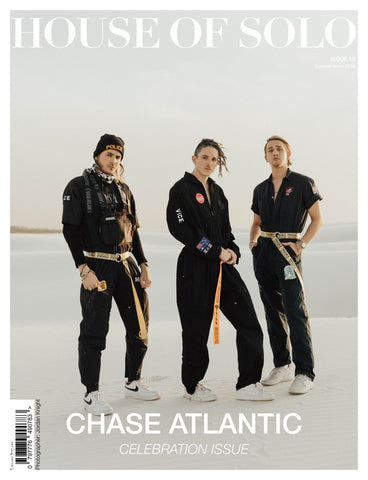 ***Pre Order*** CELEBRATION ISSUE of HOUSE OF SOLO featuring CHASE ATLANTIC