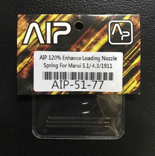 AIP 120% Loading Nozzle Spring For Marui 5.1 4.3 1911 Series Tactical #AIP-51-77