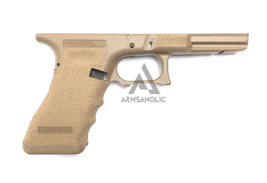 Armsaholic Custom S-style Lower Frame For Marui 17 / 18C Airsoft GBB - FDE New Version