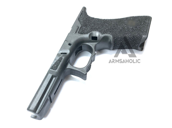 ArmsAholic Custom Lower Frame 01 for Marui 17 / 18C Airsoft GBB - Black New Version