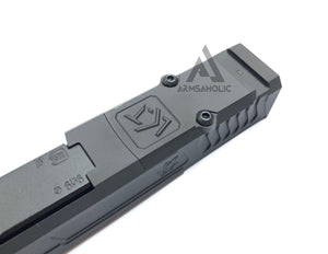 Nova CNC LK-UG RMR style with Comp Slide Set for Marui G19 GBB Series - Black