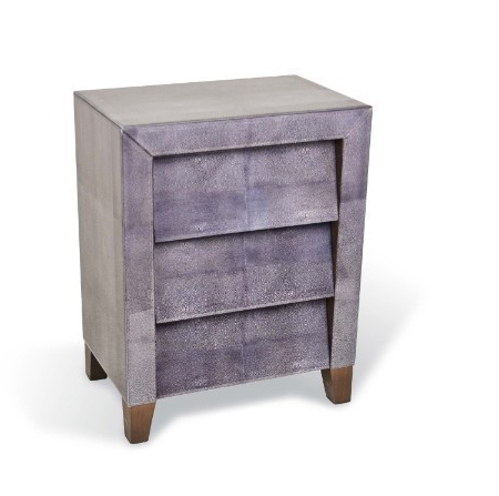 Harlequin Faux Shagreen bedside table