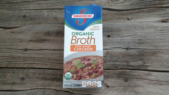 Swanson Organic Chicken Broth (32oz)