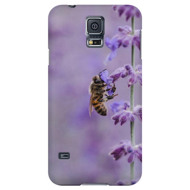 Lavender Bee Phone Case