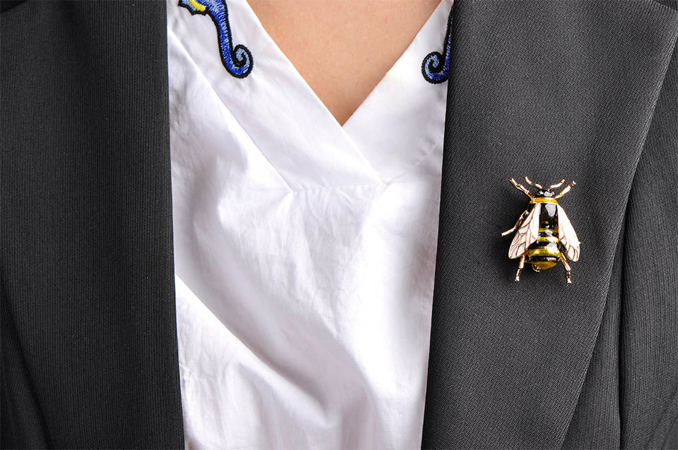 Bumble Bee Brooch