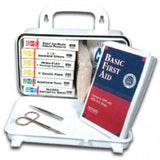 10 Person Plastic First Aid Kit